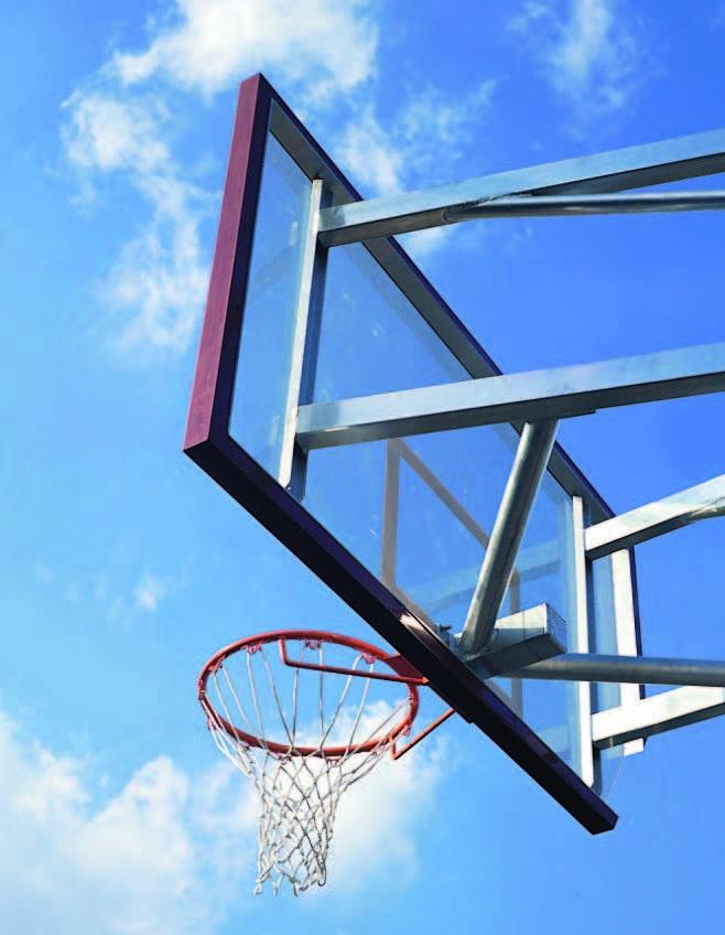 Basketbalborden en ringen