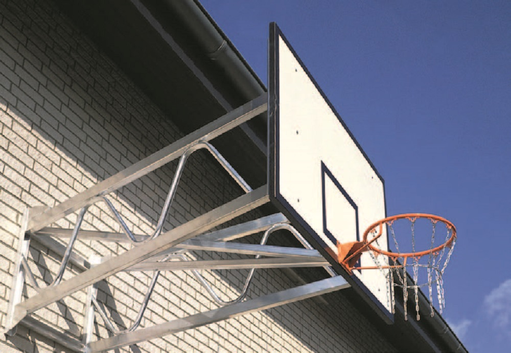 basketbalinstallatie wandbasket