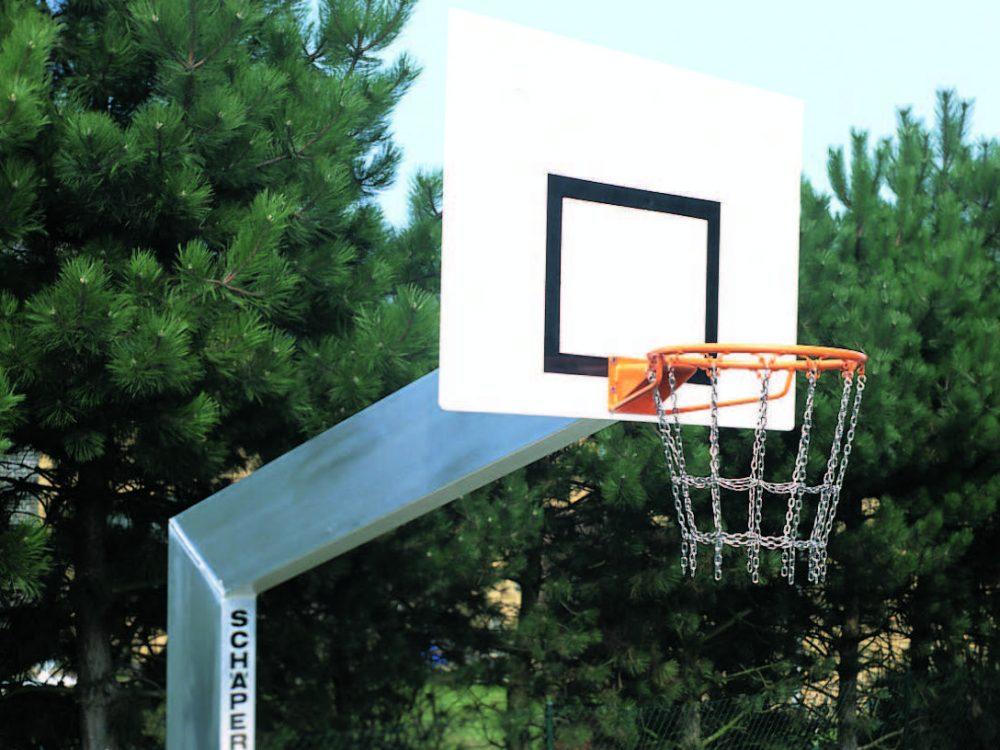 Aluminium streetballpaal