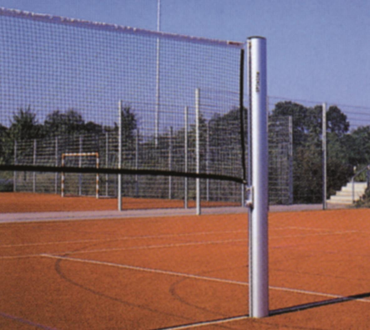 Badmintonpalen voor grondpotten