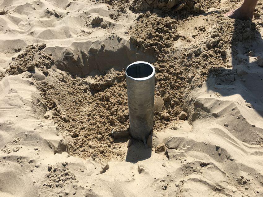 Wegneembare adapter beach