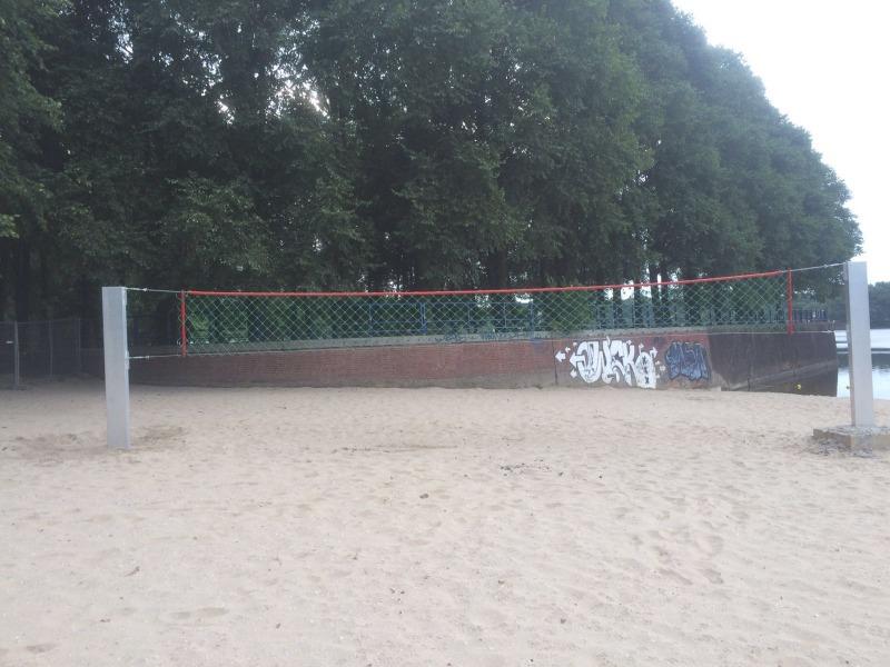 Anti-vandalen volleybalpalen Hercules (1)