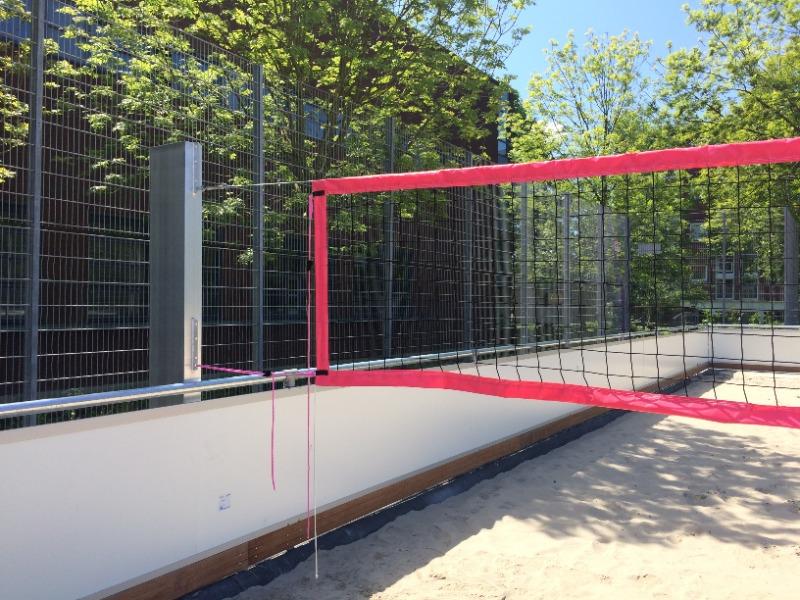 Anti-vandalen volleybalpalen Hercules (2)