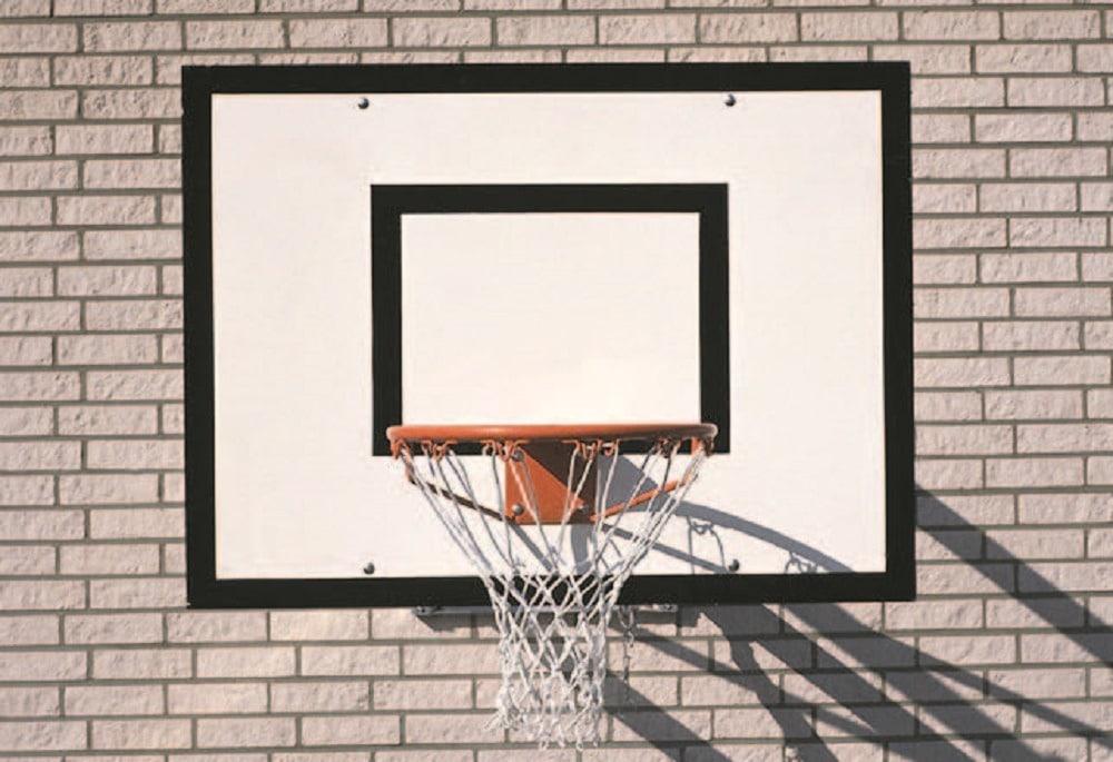 Basketbalbord niet zwenkbaar (1)