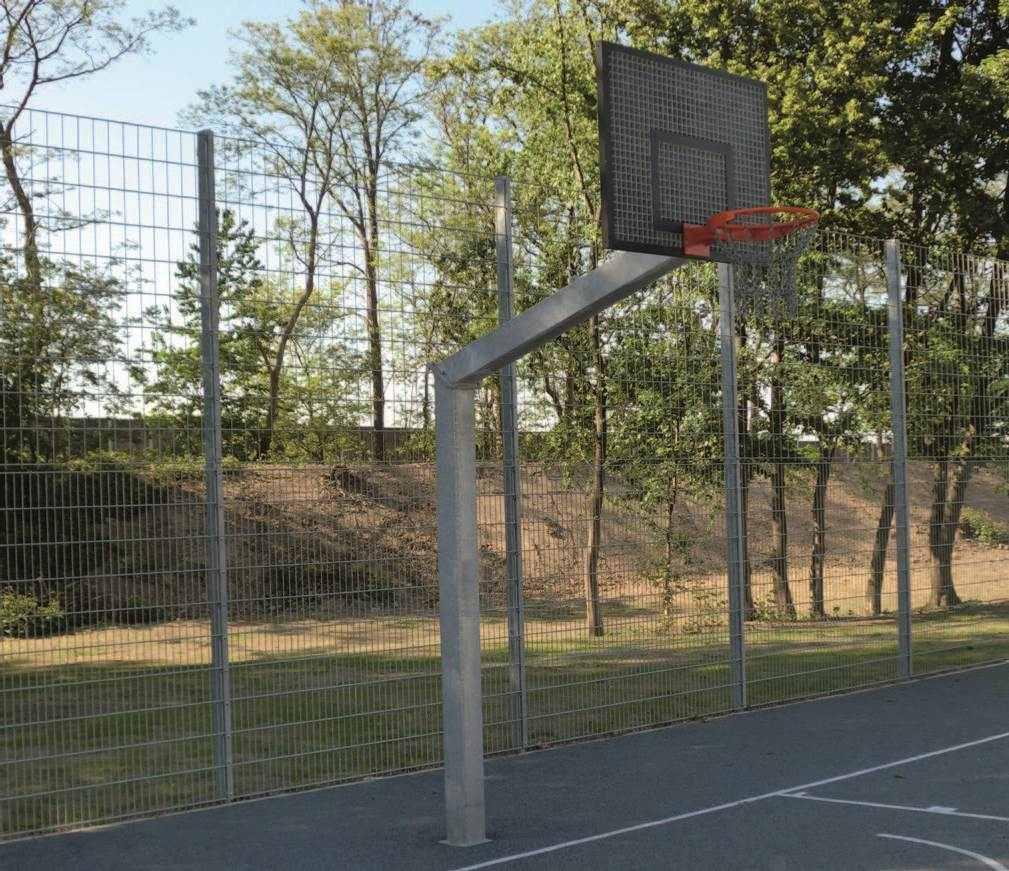 Basketbalpaal openbare ruimte