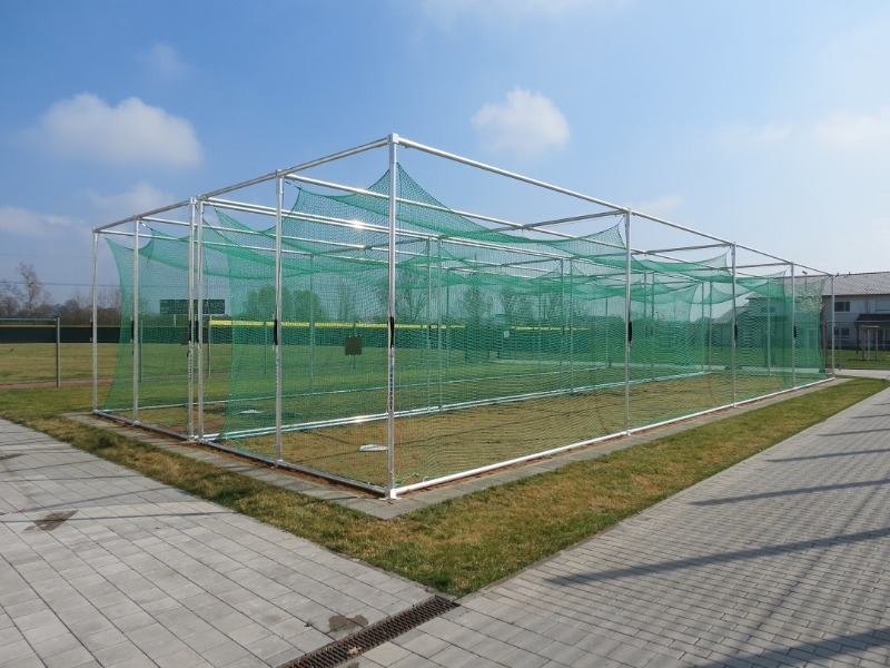Batting cage slagkooi