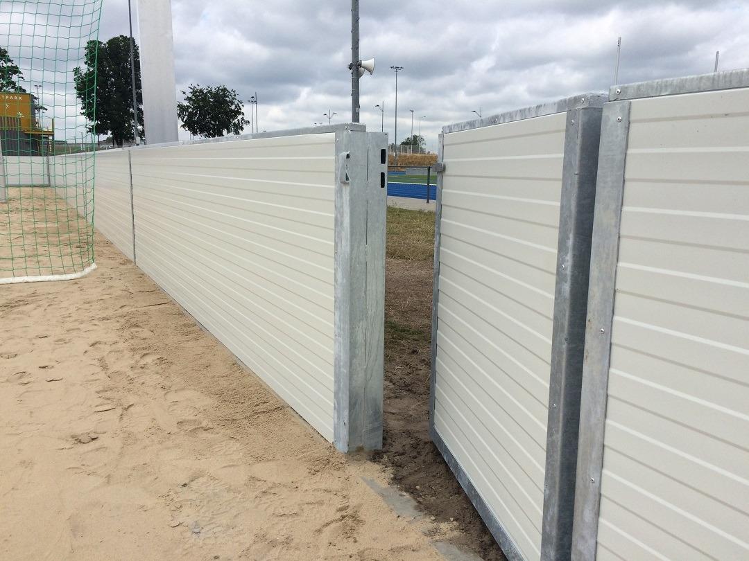 Boarding-voor-beachcourts