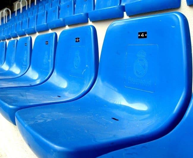 CRM stadionstoel tribunestoel Real Madrid