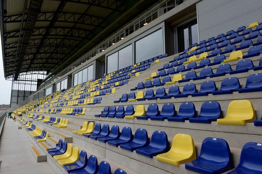 Tribunestoelen stadion
