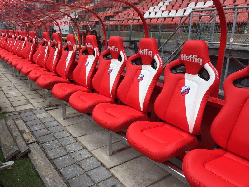 dug-outs voor stadions