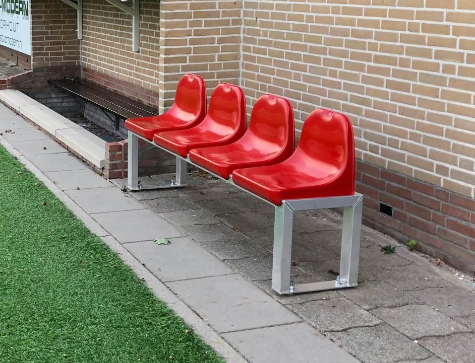 Vaste en mobiele zitbanken