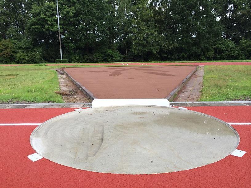 Kogelstootbalk IAAF gecertificeerd