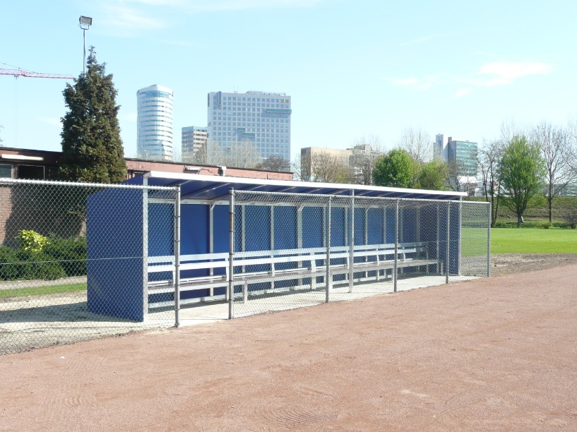 Dug-outs voor honk- en softbal
