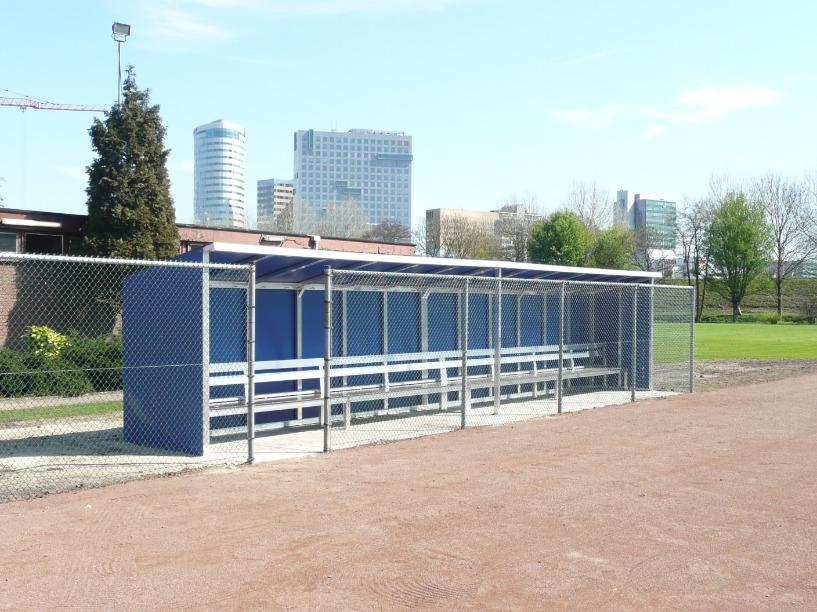 Dug-outs voor honk- en softbal