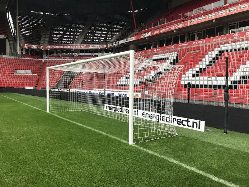 Wedstrijddoel PSV verdiept grondraam