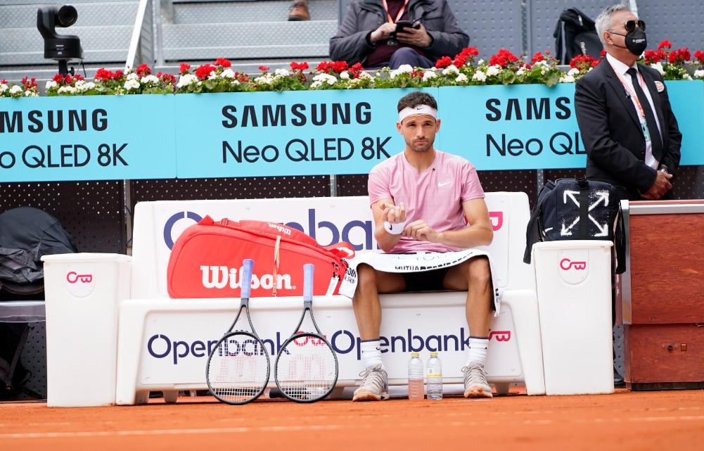 Sportbank Dimitrov ATP Madrid