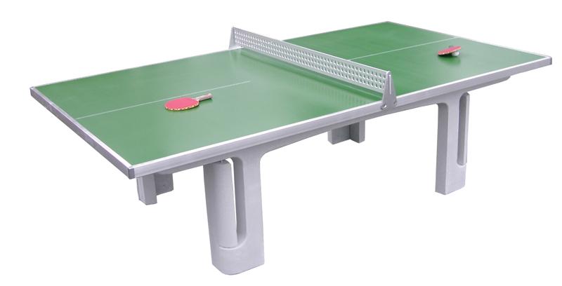 tafeltennistafel beton groen bedjes