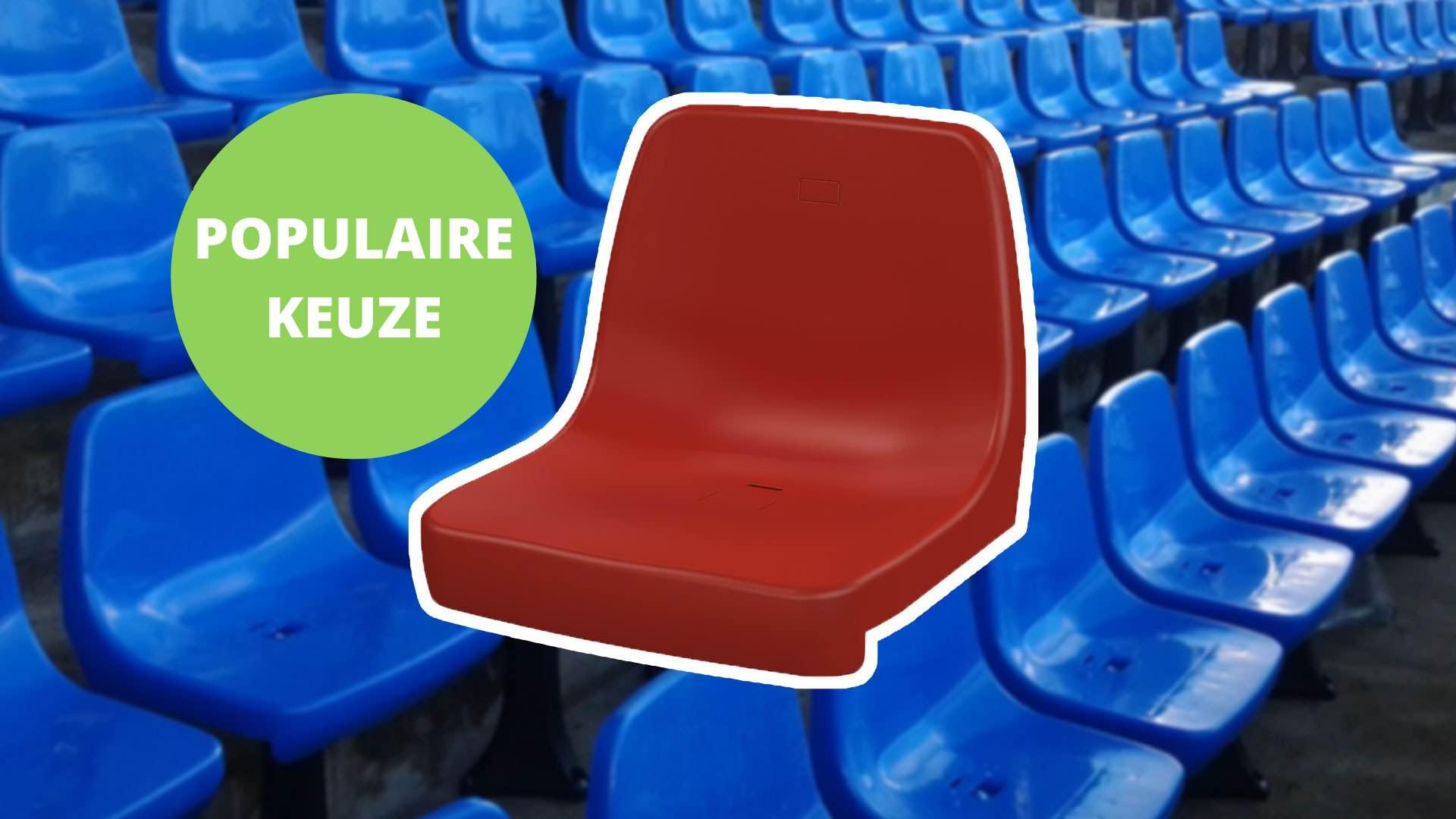 Tribunestoel CR4 populaire keuze