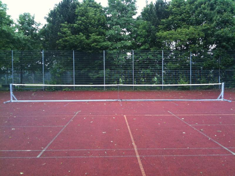 verrijdbare tennispalen