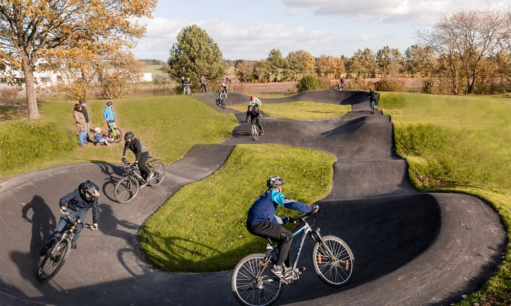 Pumptrack / BMX parcour