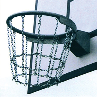 basketbalnet staal