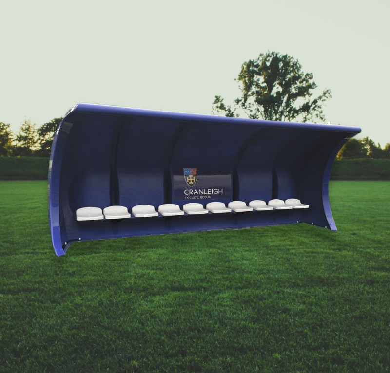fibretech kunststof dug-out gras voetbal