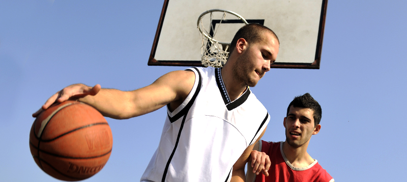 Basketbal en streetball