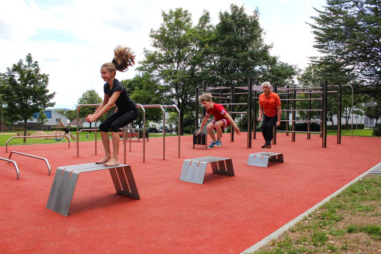 TURNBAR outdoor fitness parcour