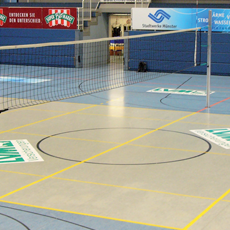 Volleybal recreatienet