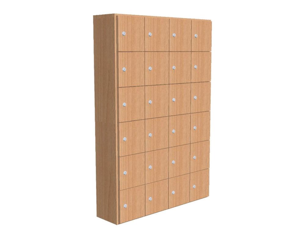 lockers hout