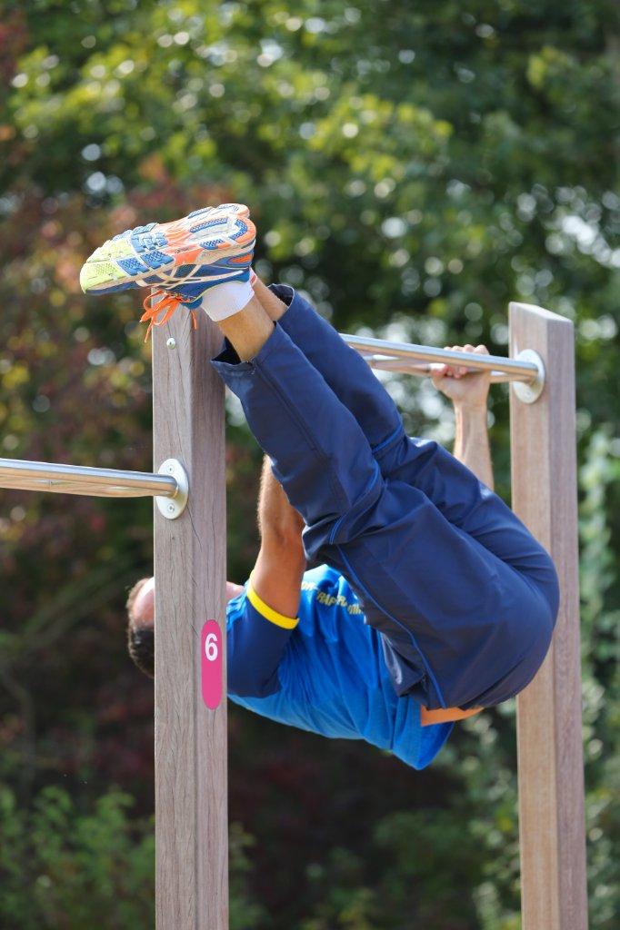 Outdoor fitness - gymnastic bar