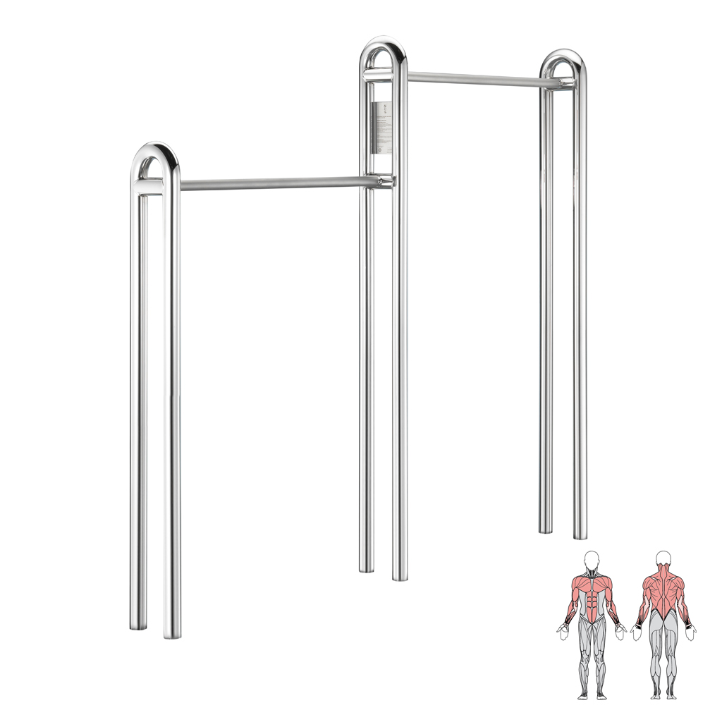 gymnastic bar