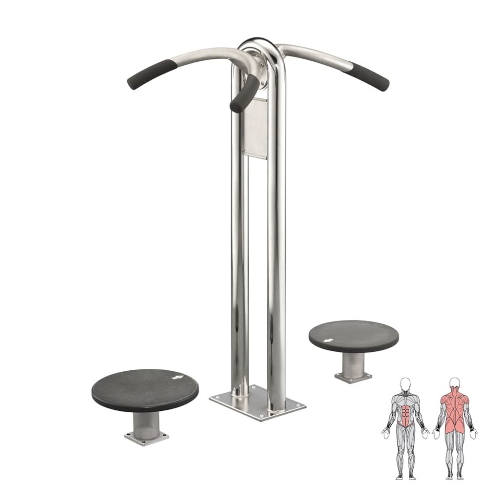 Back trainer – upright (double)