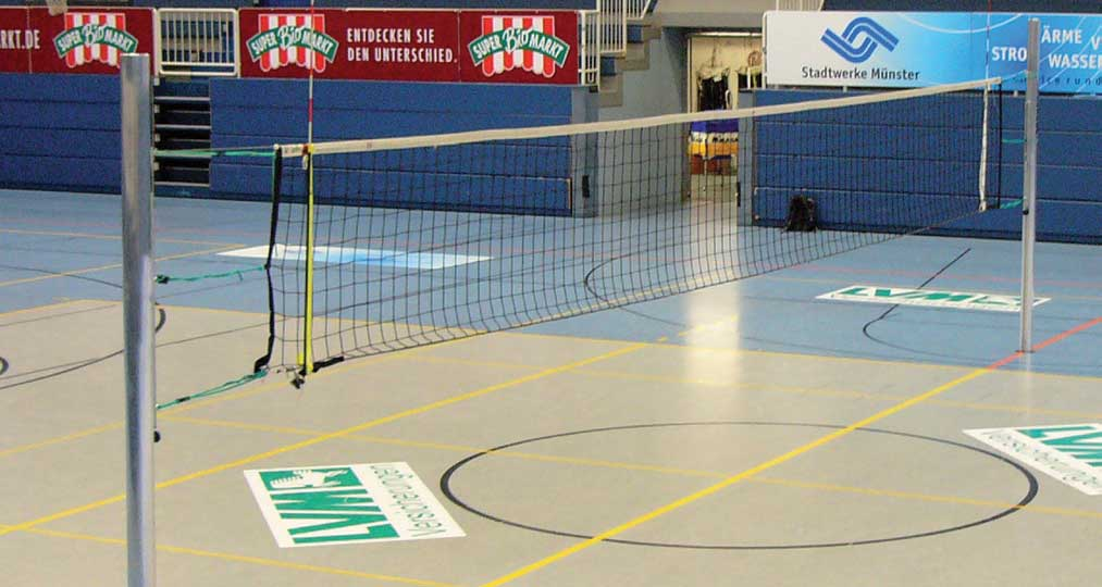 volleybalnet voor zitvolleybal