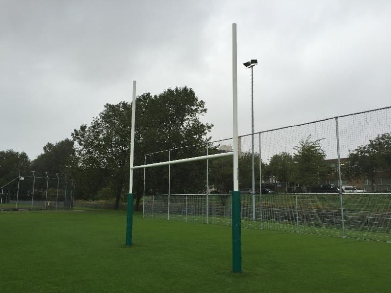 beschermingspolster voor rugbydoel