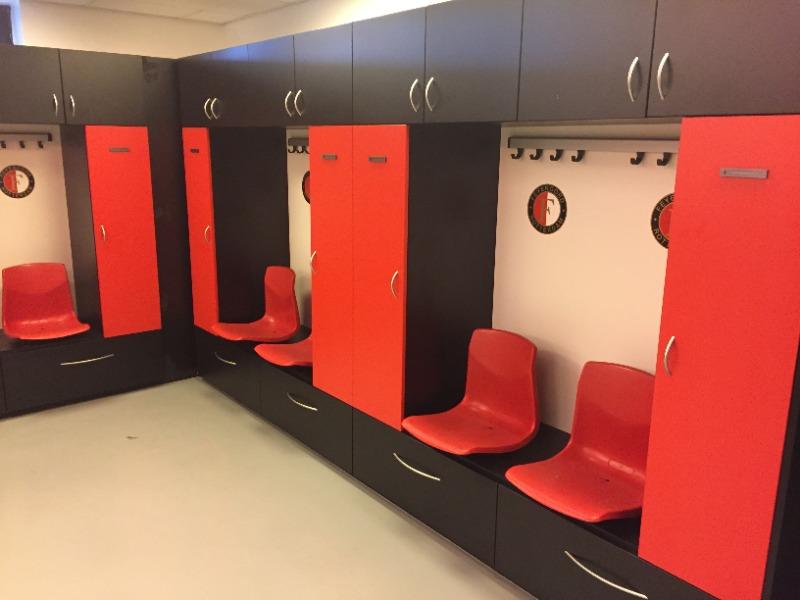 Sport lockers Feyenoord