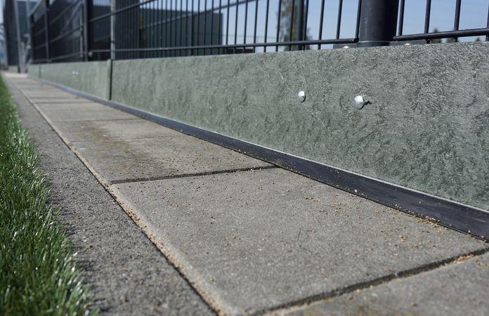 kantplank infill rubber