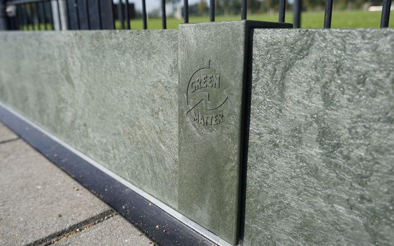 greenmatter kantplank rubber strip