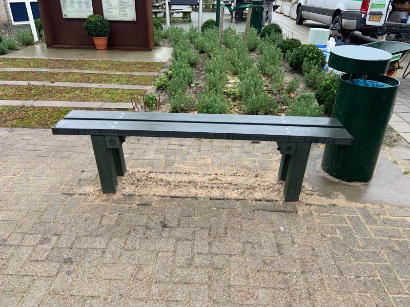 GreenMatter zitbank zonder rugleuning
