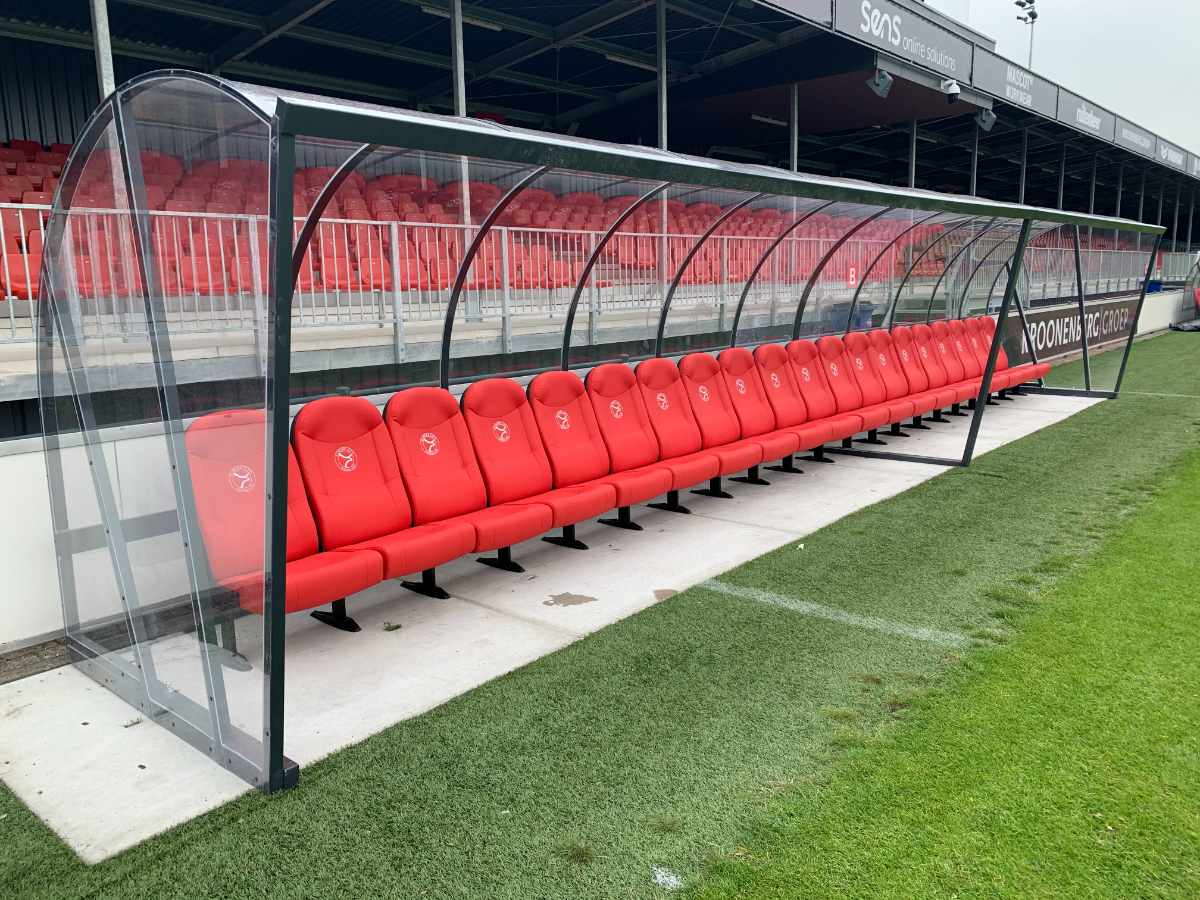Dug out stoel milan - dug out Almere city