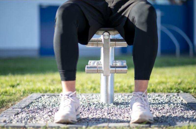 modern line buiten fitness Fitnesstoestel voor schouders en borst A 925 008 (3) 1