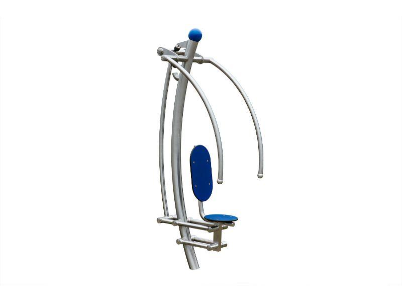 modern line buiten fitness Fitnesstoestel voor schouders en borst A 925 008 (5)