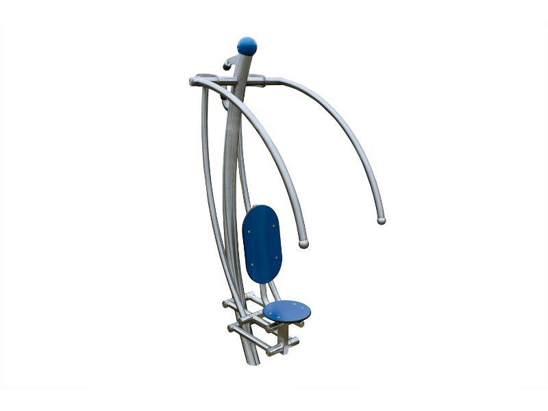 modern line buiten fitness Fitnesstoestel voor schouders en rug A 925 007 (9)