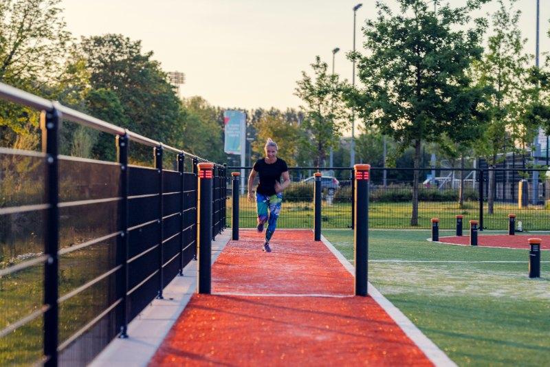 SmartGoals Interactive Running track