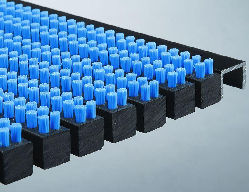 Schoonloopmat blauw