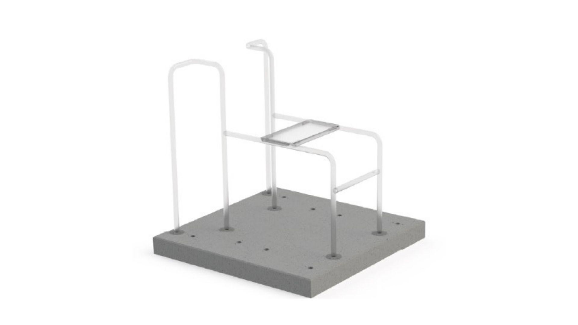 Prefab betonplaat